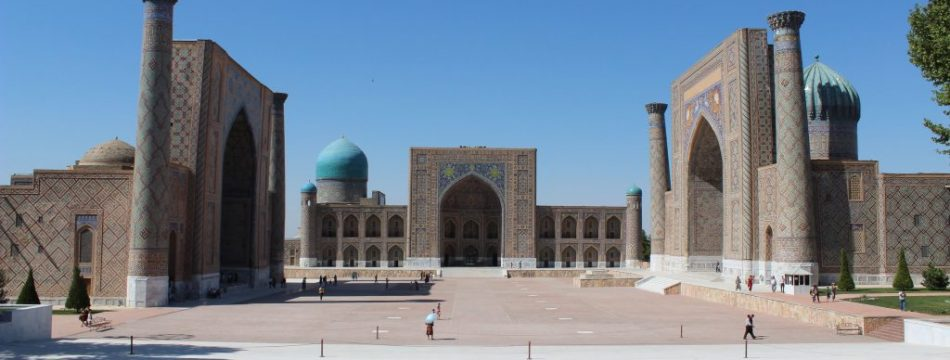 Samarkand, Registan-Platz